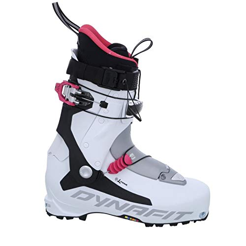 (Dynafit TLT7 Expedition CR Ski Boot - Women's White/Fuchsia, 25.5)
