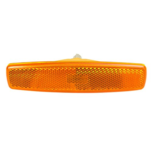 CarPartsDepot Front Bumper Side Marker Lamp HY2550115 Amber For 03-05 Hyundai Accent Sedan L/H