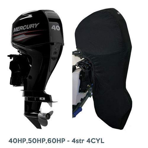 Oceansouth Mercury Outboard Storage Full Cover 4stroke 4cyl 40HP-60HP 20
