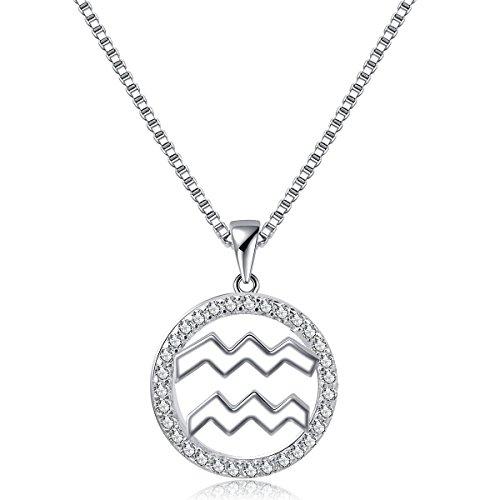Bella Vida Necklace Constellation Horoscope Platinum