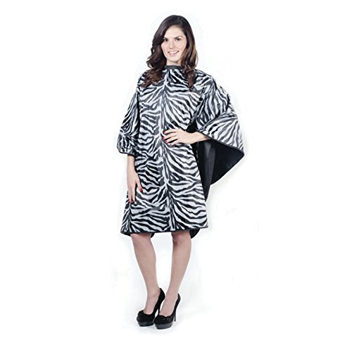 Cricket Flip Reversible Lightweight Zebra Cape, Black/Silver, 7.52 (Reversible Zebra)