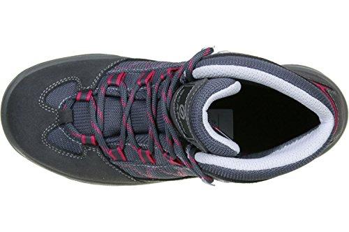 Scarpa Cyclone Kid Zapatillas de senderismo niños smoke/passion pink