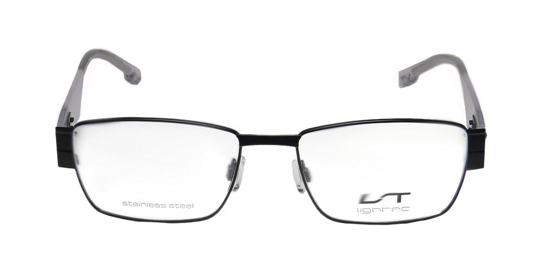 Lightec 7025l Mens/Womens Rx Ready Unique Design Designer Full-rim Flexible Hinges Eyeglasses/Glasses