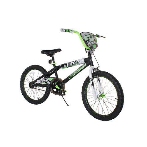 Dynacraft Boy's Magna Threat Bike (Black/Green 20-Inch) [並行輸入品] B0784NGF7J