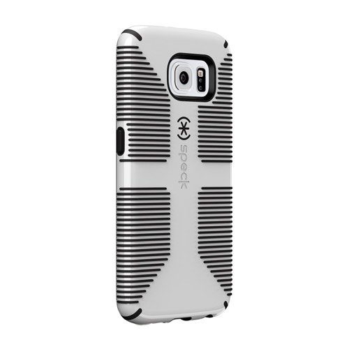 detailed look 639d5 74b96 Speck Products CandyShell Grip Case for Samsung Galaxy S6 Edge - Retail  Packaging - White/Black
