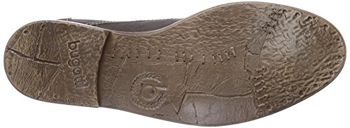 Bugatti F78291G - botas desert de cuero hombre gris - Grau (grau 160)