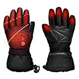 Upgraded Heated Gloves for Men Women,Electric Ski...