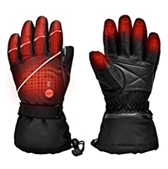 Item: 2019 Upgraded Heated Gloves Men WomenFeatures : ●With Far Infrared Fiber heating elements Layer,Stimulate your hand blood circulation, and Great for Raynaud's , Arthritis , Bad Circulation, Stiff Joints People  ● The heating elements co...
