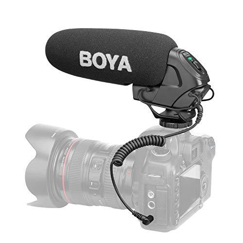 BOYA BY-MM1 Microphone Shotgun for Smartphone Cell Phone Selfie Video Making Filmmaking Youtube Vimeo Tiktok Vlog Vlogger 49-LED Light Fotga Compact Video Camera Cage Bracket Handle Rig Stabilizer