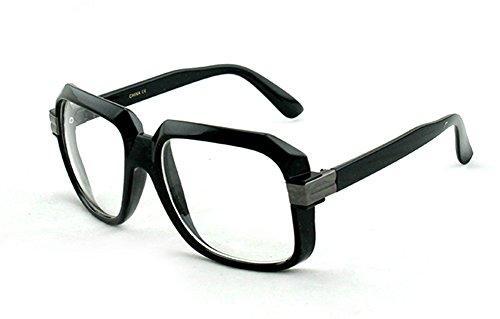 Newbee Fashion - IG 80's Old School Rapper Hip Hop DJ Short Trim - Old Glasses School Hip Hop