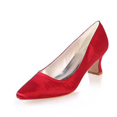 Red Available L Professional 01 Women'S Party 0723 Costumes amp; YC Colors Silk Shoes More Wedding Pointed BnfZApqB