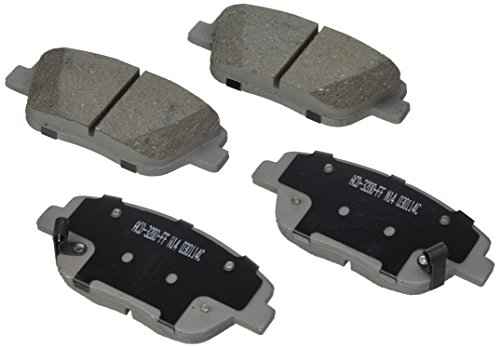 Price comparison product image ACDelco 14D1444CH Advantage Ceramic Front Disc Brake Pad Set