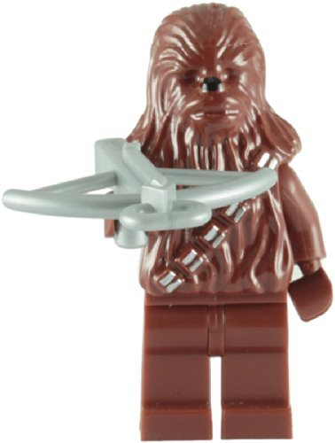 Lego Star Wars Minifigure - Chewbacca Minifig with Crossbow]()