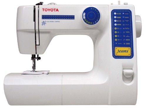 Toyota JFS18 Allround Freiarm Nähmaschine mit 18 Programmen und Jeansfunktion
