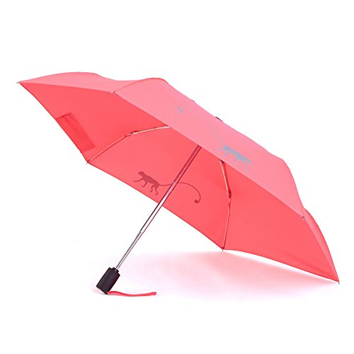 Kipling Women's Auto Open Umbrella One Size Coral Pink by Kipling