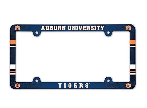 NCAA Auburn Tigers Full Color License Plate Frame, Team Color, One Size (Car Auburn Accessories)