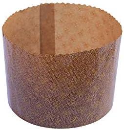 Forme di cottura in carta Panettone alto 750 gr Set da 10// 20// 50// 100 pz