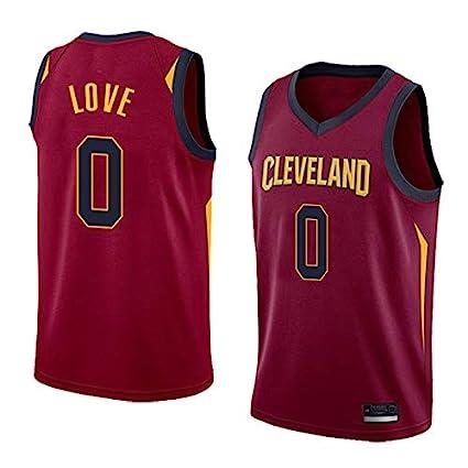 S/&P Sport Kevin Love Cleveland Cavaliers Rot Trikot,Kevin Love Icon Edition Swingman Trikot