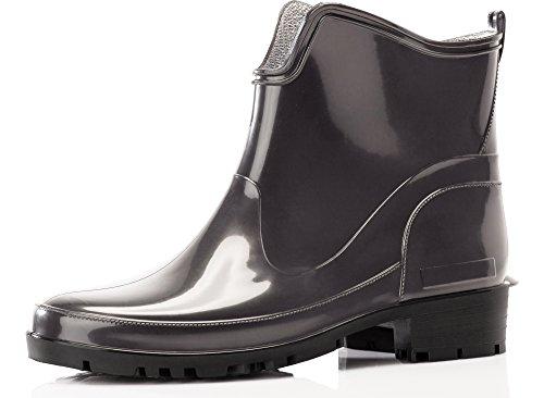 Botas Ladeheid LA Seguridad 930 de Zapatos Grafito Botines Mujer vwxw5q4BR