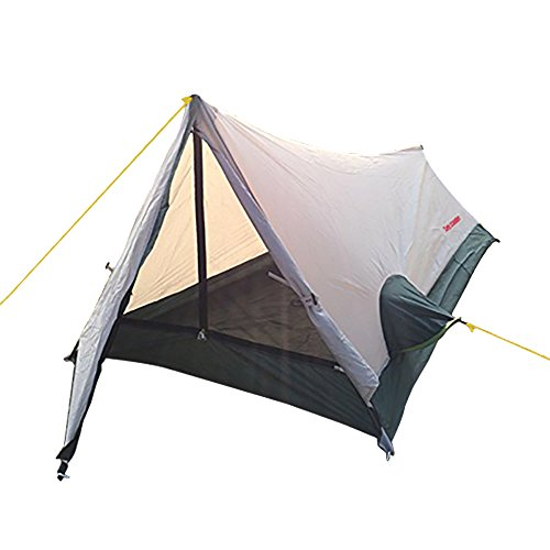 Ultralight Single Tent for Backpacking Camping Hiking Waterproof A frame Solo Bivvy Sacks Aluminum Poles and Pegs Lightweight 1 Man Tent by Top Lander