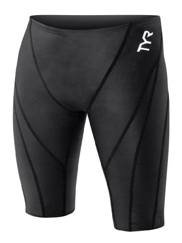 Tyr Tracer Light (TYR Men's Tracer Light Jammer Swim Suit (Black, 24 -Inch))