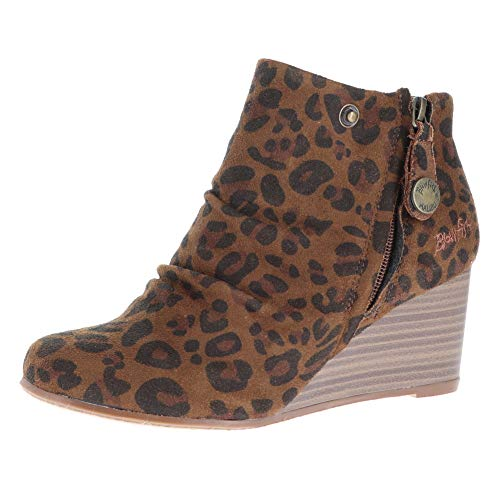 Blowfish Women's Berkeley Brown Autumn Leopard Micro Deluxe 10 M US M