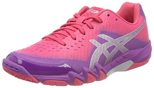 ASICS GEL BLADE 6 SCARPE SPORTIVE INDOOR DONNA VIOLA ORCHID/PRUNE/ROUGE RED