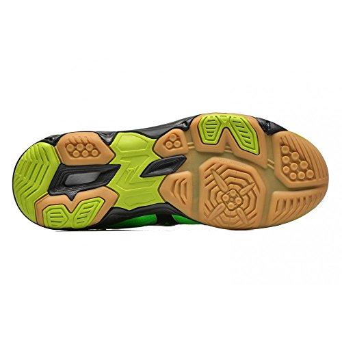 Mizuno - Mizuno Wave Twister 4 Scarpe Pallavolo Verdi 157009 Verde