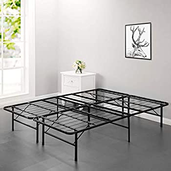 Amazon Com Bed Frame Platform Folding Bed Frame Metal