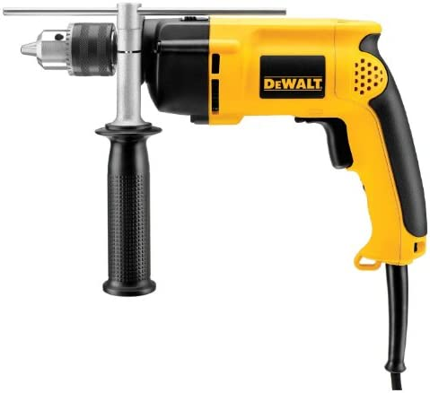 DEWALT DW511R Heavy-Duty 6.7 Amp 1 2-Inch VSR Single Speed Hammer Drill Certified Refurbished