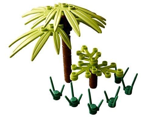 LEGO Tropical Palm Tree Pack (Lego Halloween Costumes)