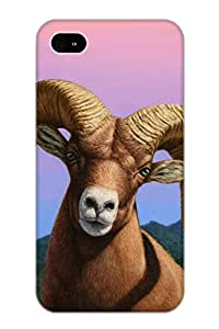 Storydnrmue RYwGPh-5259-uZUXw Case Cover Skin For Iphone 4/4s (Portrait Of A Bighorn)/ Nice Case With Appearance