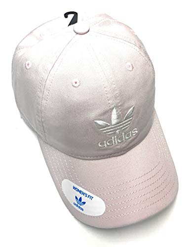 adidas Originals Women's Relaxed Adjustable Strapback Cap, One Size (Ice Purple/White)