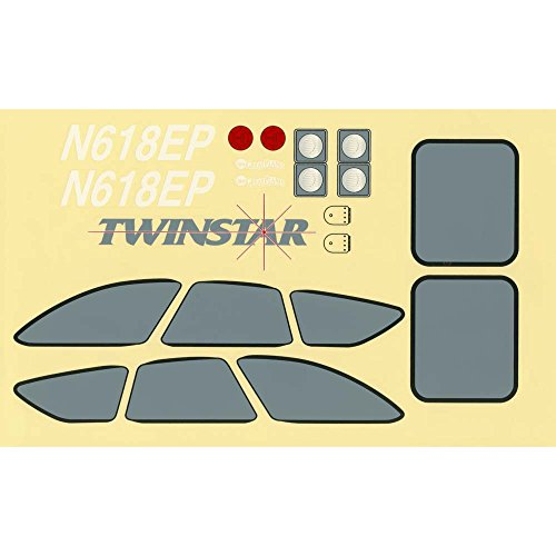 Decal Set Planes Great (Great Planes Decal Set Twinstar EP ARF)
