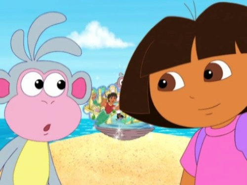 Dora Saves The Mermaids - Explorer Nick Jr Dora
