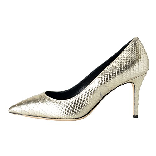 Design Zanotti Silver High Heels Python Women's Shoes Silver Giuseppe Pumps Skin 75Uqqw