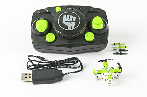 Rage RC Pico X Ultra Micro Quad Rtf RC Multirotor, Green