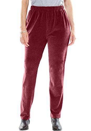 Stretch Velour Pants - 9