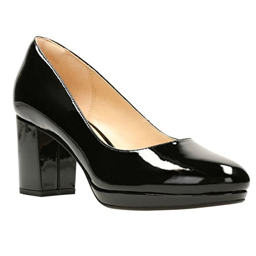 pat Pumps Hope Clarks Kelda Women's black qnxgfPwf