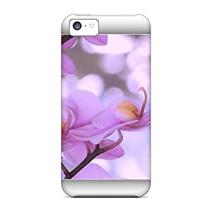 Snap-on Pink Blossom Cases Covers Skin Compatible With Iphone 5c