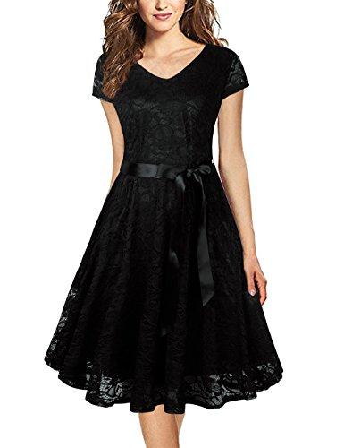Formal Black Cocktail Dresses for Juniors