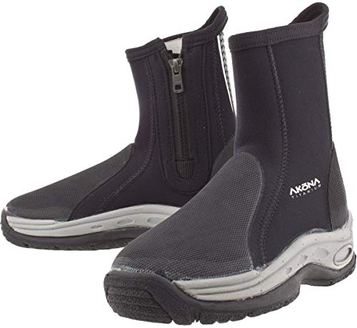 Akona Deluxe Molded Sole Boots, 13/3.5mm