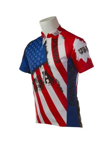 Spinning® Short-Sleeve Spirit of USA Jersey - Spirit Short Sleeve Jersey