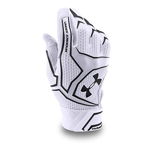Under Armour Men's Yard ClutchFit Baseball Batting Gloves — All-Star Game Edition, White/Black, Small