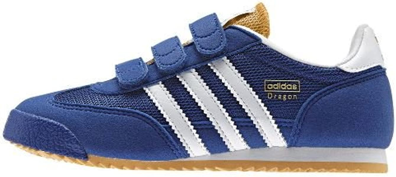 8dd286176f14 Adidas Dragon CF Little Kids Shoes Collegiate Royal Core White St.  Goldenrod M25195
