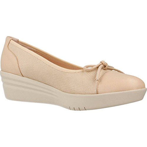 mikaela Zapatos Bailarina Para Mujer, Color Hueso, Marca, Modelo Zapatos Bailarina Para Mujer Jr Creamy A Hueso