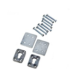 Pit Posse 110212 Motorcycle Removable Wheel Chock Hardware Kit Only Fits Pit Posse or Pingel