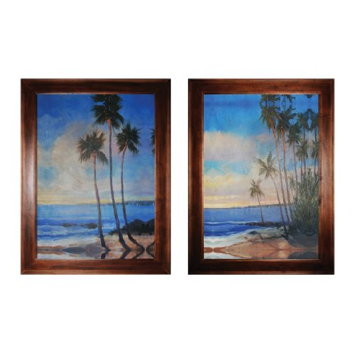 (Sterling Industries 10215-S2 Embellished Tropical Breeze I and II)