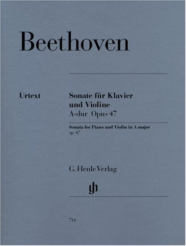 "Read Online Beethoven: Violin Sonata in A Major, Op. 47 (""Kreutzer Sonata"") PDF"