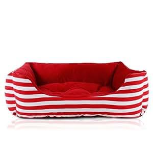 Amazon.com : Colorfulhouse Red & White Navy Stripes Dog
